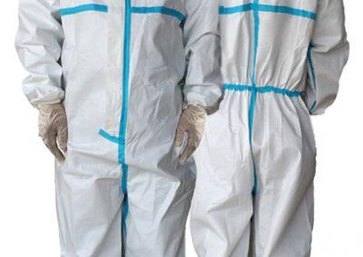 Virenschutz-Overall